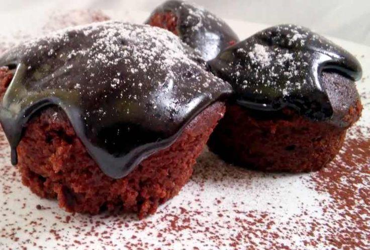 Muffinki z nutellą Czekoladowa Moc - Przepisy
