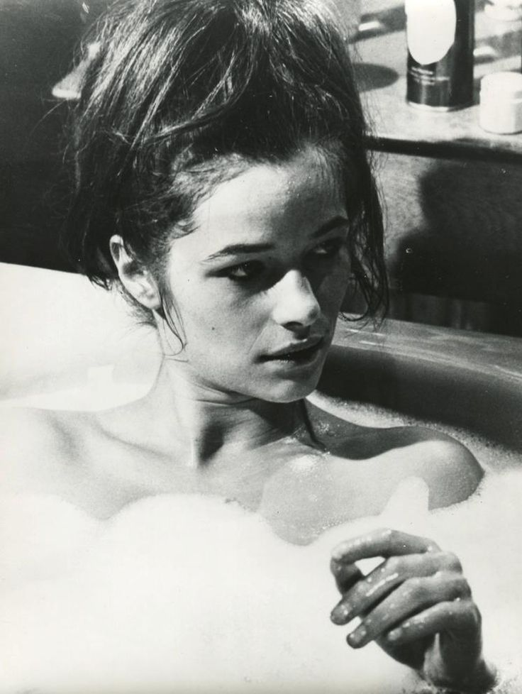 Charlotte Rampling in Georgy Girl, 1966.
