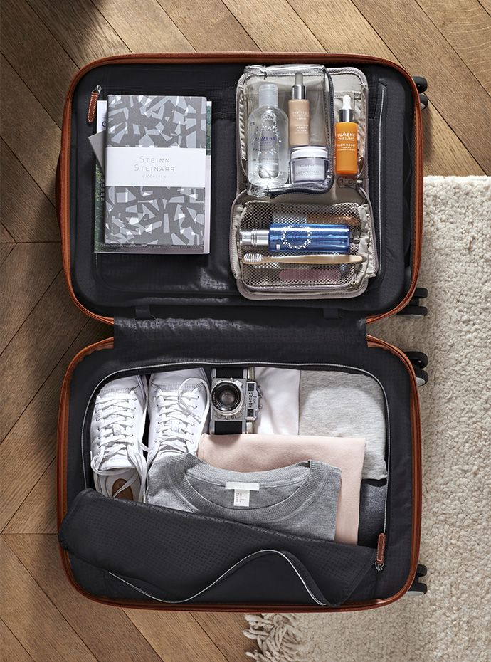 Deconstructing a quiet weekend away:Instead of planning outfits day by day, pack for the bigger picture, stick to a colour palette so you can mix key pieces, greys, whites and blacks. Choose your clothing intelligently, fabrics such as natural merino wool won't crease and will take up minimal space. Read more at:  http://www.lumene.com/us/content/deconstructing-quiet-weekend-away