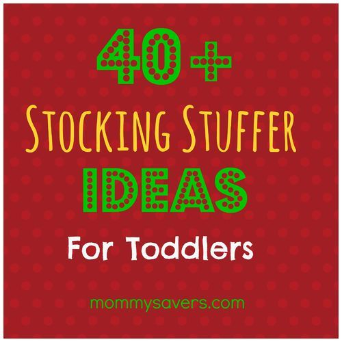 40+ Stocking Stuffers for Toddlers