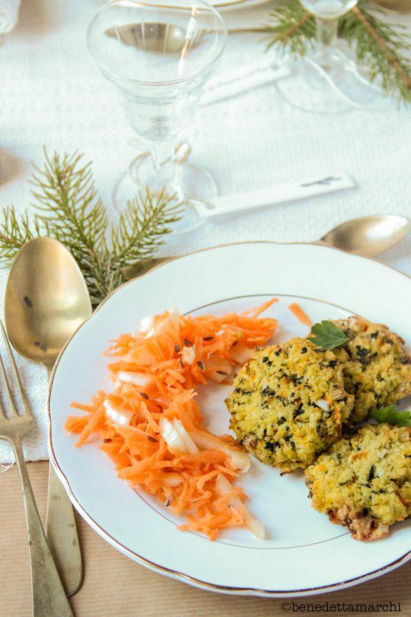 Crocchette di lenticchie e spinaci