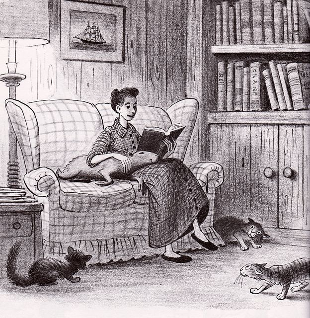 Capyboppy by my vintage book collection (in blog form), via Flickr BILL PEET