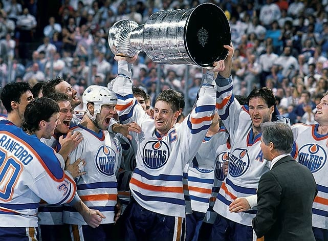 Wayne Gretzky Edmonton Oilers Stanley Cup