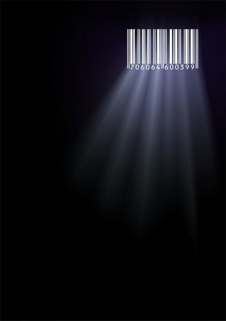 It's interesting to see the concept expressed by the use of simple image. The barcode is visualized as the window of prison, which show the concept of social issue.: