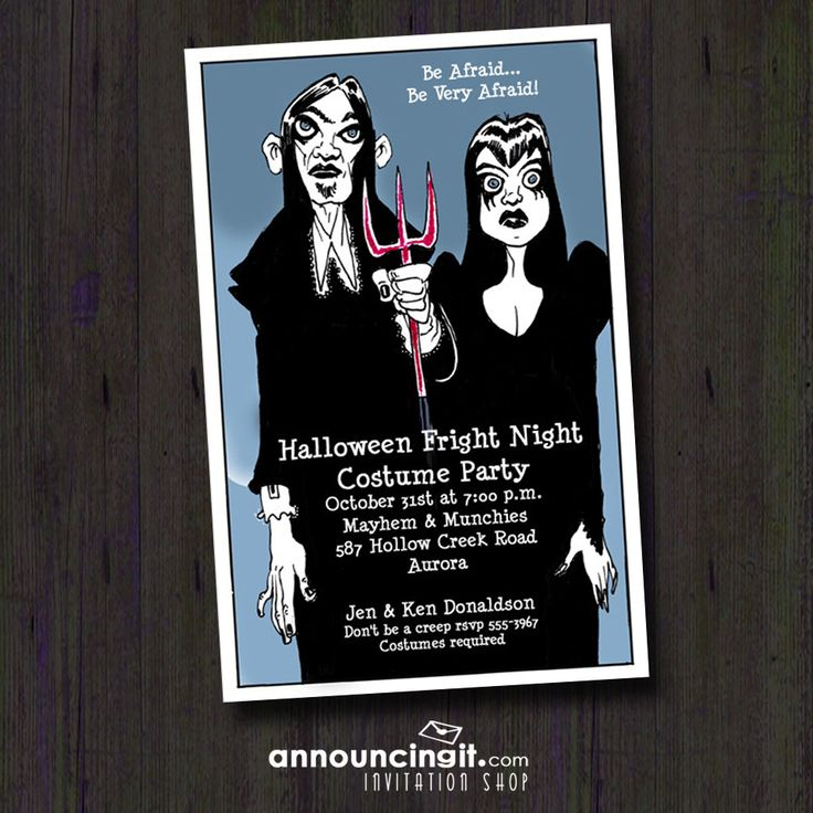97 best Halloween Invitations images on Pinterest | Anniversary ...