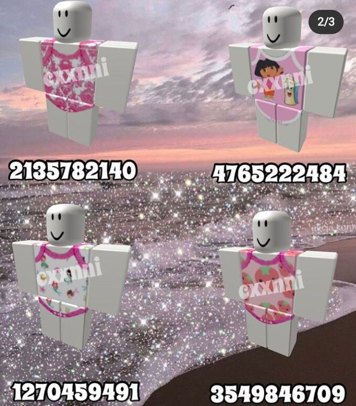 Pink Aesthetic Clothes Codes For Bloxburg
