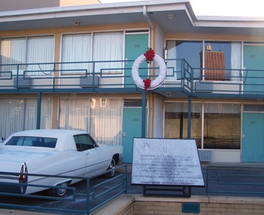 Memphis, TN - National Civil Rights Museum is a privately owned complex of museums and historic buildings built around the former Lorraine Motel at 450 Mulberry Street where Martin Luther King, Jr. was assassinated on April 4, 1968.