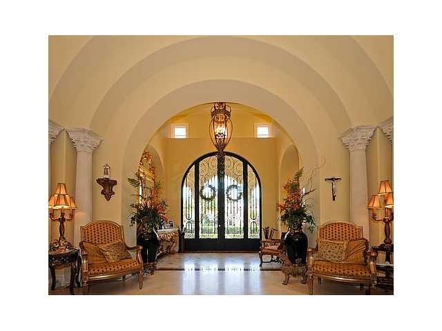 Mediterranean Grand Foyer : Grand foyer in mirasol country club mediterranean style