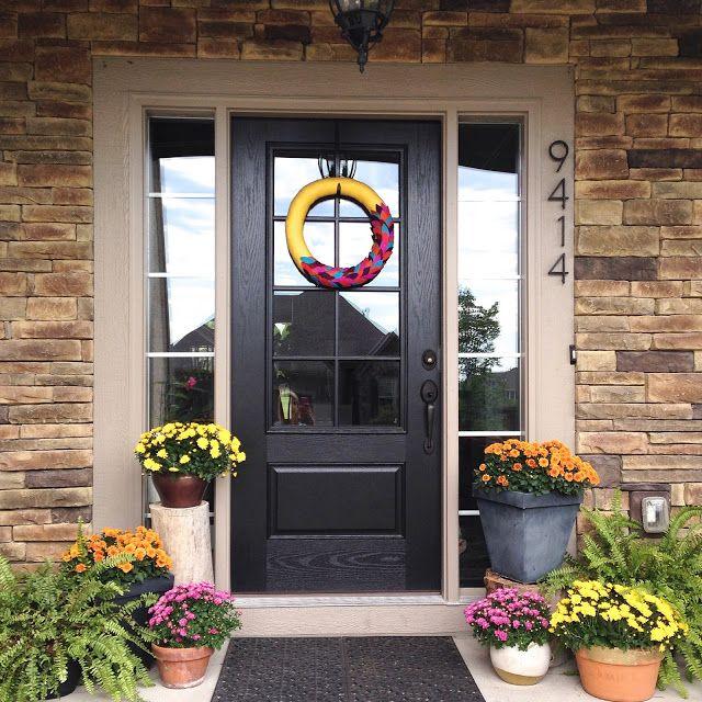 Life Love Larson chose Pella for her new custom glass panel front door. We love it!