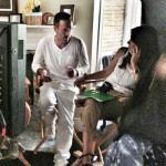 David Arquette And Courteney Cox Are Cozy Co-Workers On Set — See The Exclusive Pic! - http://celeboftea.com/david-arquette-and-courteney-cox-are-cozy-co-workers-on-set-see-the-exclusive-pic/
