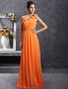 YOGITA - Vestido de Fiesta de boda o de Dama de honor de Gasa y Satén