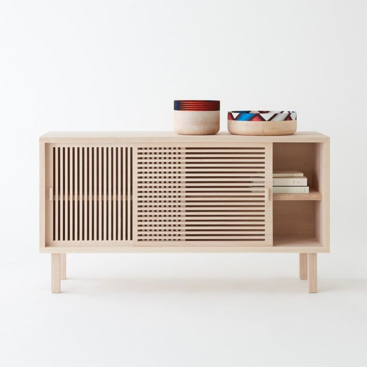 #Kyoto buffet/sideboard brand Colonel.  Design by #Isabelle_Gilles and #Yann_Poncelet.