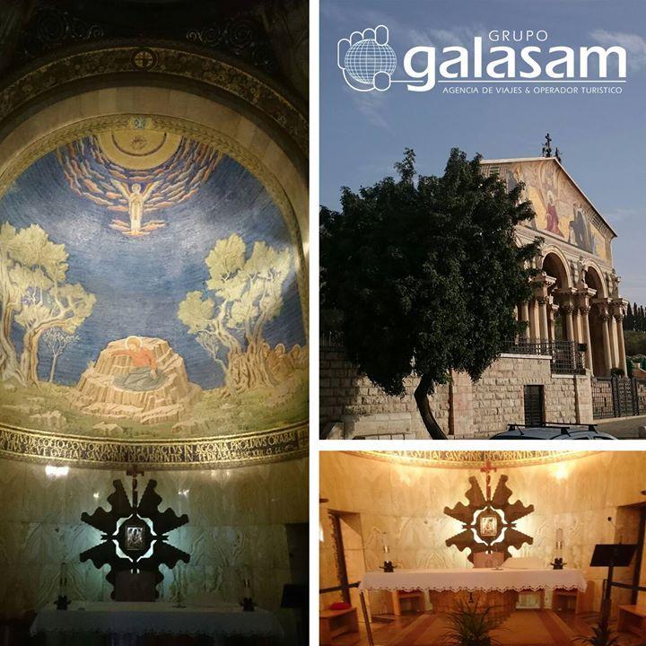 En nuestras peregrinaciones a #TierraSanta visitaremos la #BasílicaDeGetsemaní también conocida como #BasílicaDeLasNaciones o de la #Agonía es un templo católico situado en el #MonteDeLosOlivos de #Jerusalén junto al jardín de #Getsemaní. En su interior se encuentra la porción de roca en la que #Jesús oró la noche de su arresto después de celebrar la #ÚltimaCena. Visítenos en http://ift.tt/2g3ovwi