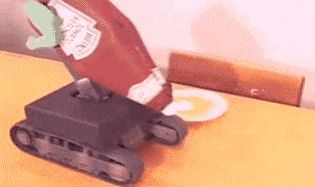 The future of ketchup dispensary: | 26 GIFs That Will Make You Die Of Laughter Every Time You Watch