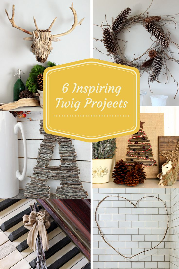 Inspiring Christmas twig ideas