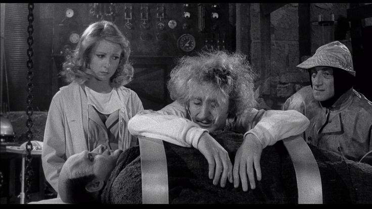 Still of Teri Garr, Gene Wilder and Marty Feldman in Young Frankenstein (1974) http://www.movpins.com/dHQwMDcyNDMx/young-frankenstein-(1974)/still-3704343552