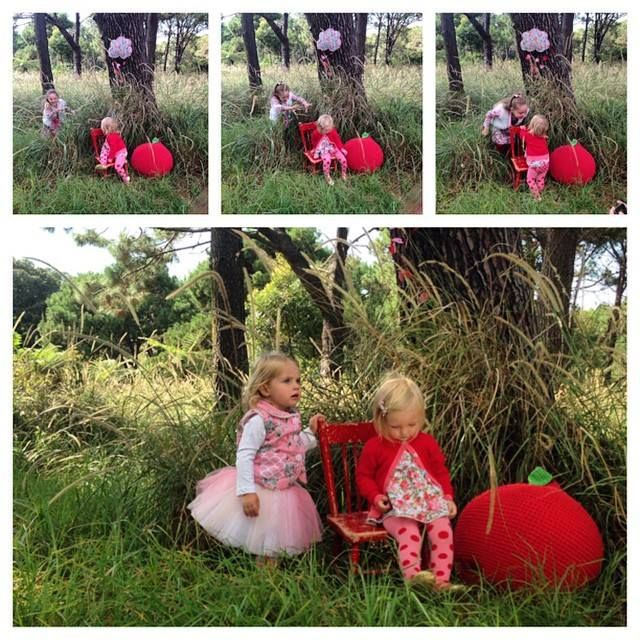 Love the behind-the-scenes at a photo shoot, we had heaps of fun. Thanks to the Oobi mums and amazing Little Oobis!