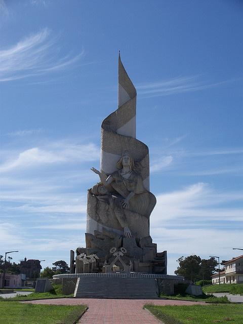 Monumento a la Gesta de Malvinas (Falkland Islands War Memorial), Quequén, Argentina