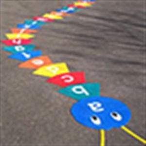 painted playground games | ... Playground marking paint / Playground