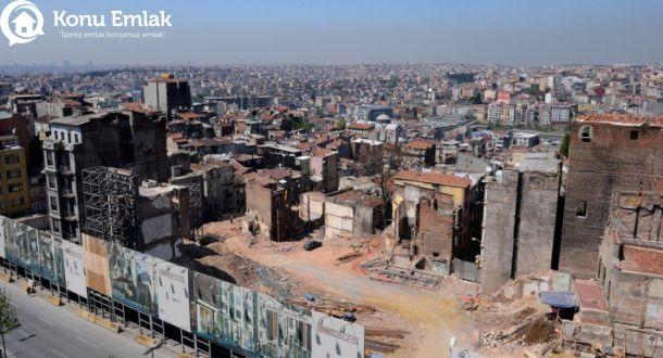 İstanbul Tarlabaşı'nda kentsel dönüşüm aralıksız devam ediyor!