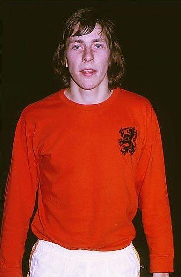 Arnold Muhren Holland U-23 1973