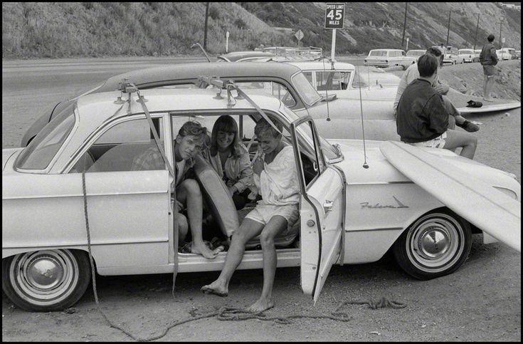 Bruce Davidson, 'Surfers along Pacific Coast, Los Angeles, California', 1964