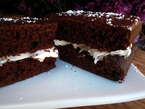 devil's food cheesecake   Homemade Suzy Q's - Devil's Food Cake