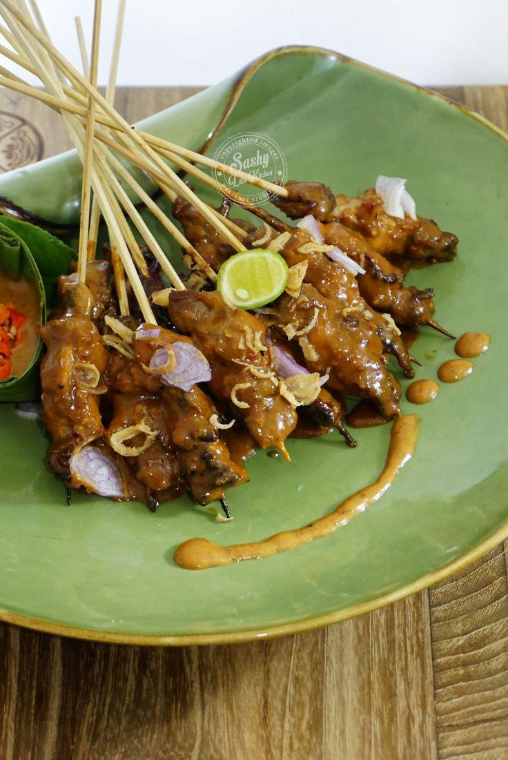 Sate Ayam Khas Madura | Resep masakan indonesia, Memasak