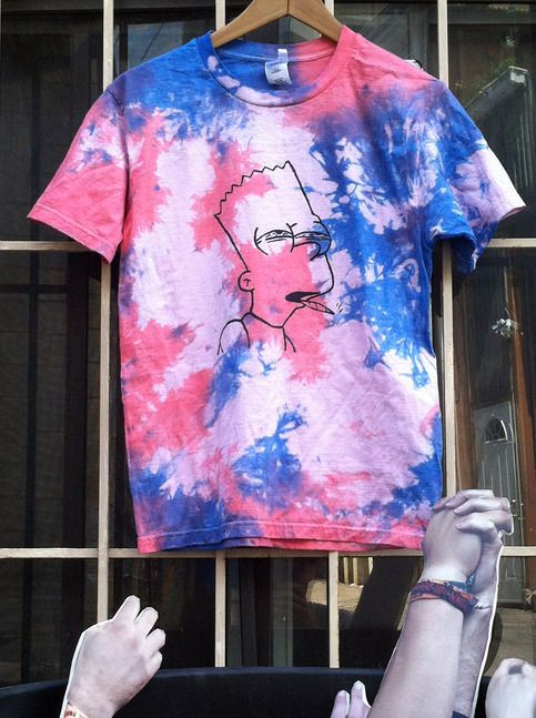 👕 Embotada baronete camiseta de Sangue do Jovem -  /  👕 Blunted Bart tee from Blood of the Young  -