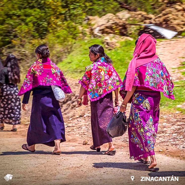 San Juan Chamula y Zinacantán. Chiapas Mientras que en el templo de San Juan Chamula se experimenta una religiosidad mestiza; en los invernaderos, en los bordados de la indumentaria se vive una especie de reverencia abierta y luminosa a la vegetación.