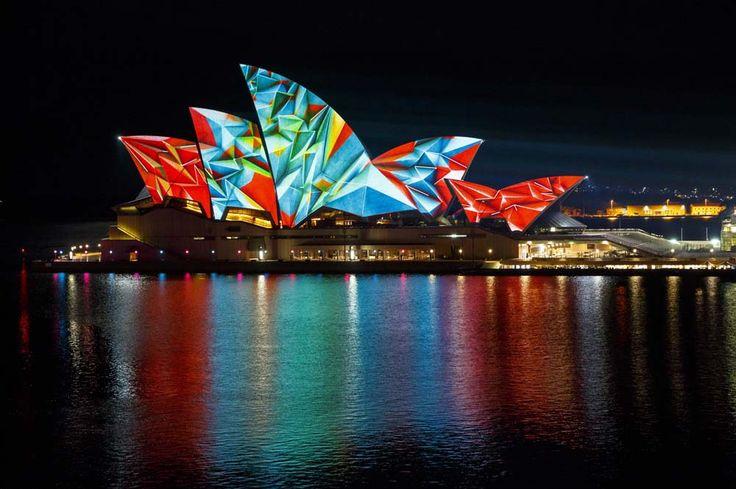 Vivid Light, Sydney, Australia https://www.facebook.com/vividsydney   #festival #website #sydney