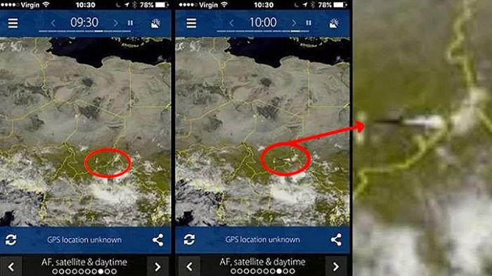 Gigantesco OVNI fue captado por satélite del clima en África         Un ciudadano de Boston miraba el clima en la plataforma online Sat2...