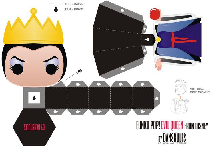 Funko Pop! Evil Queen Disney by Dansrules by dansrules.deviantart.com on @deviantART
