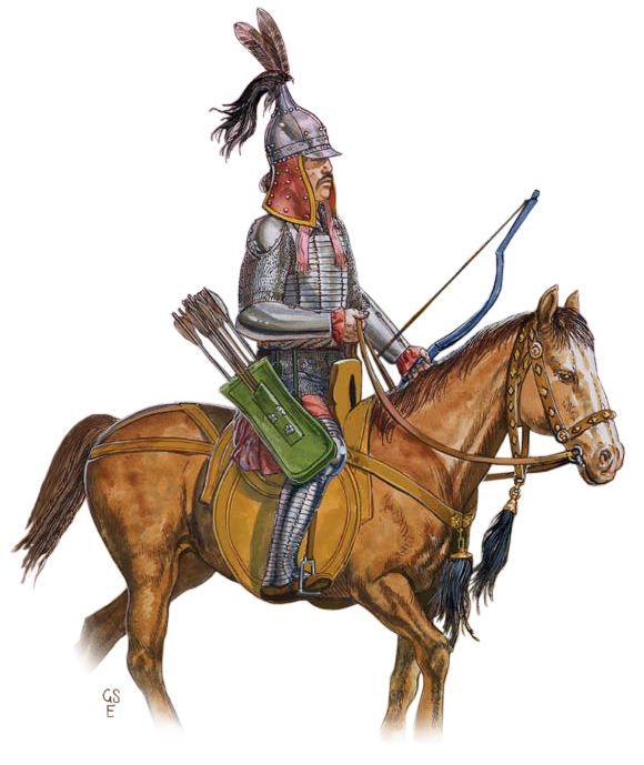 Siberian Khanate cavalryman, 15th-16th century