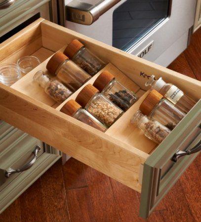 szuflady na przyprawy