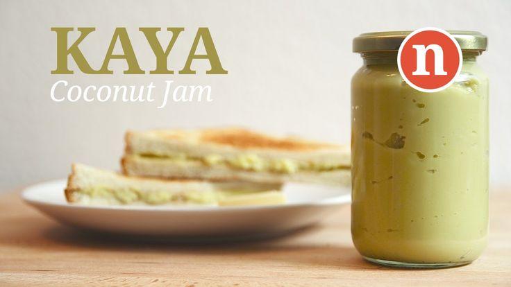 Kaya Pandan (Coconut Jam)
