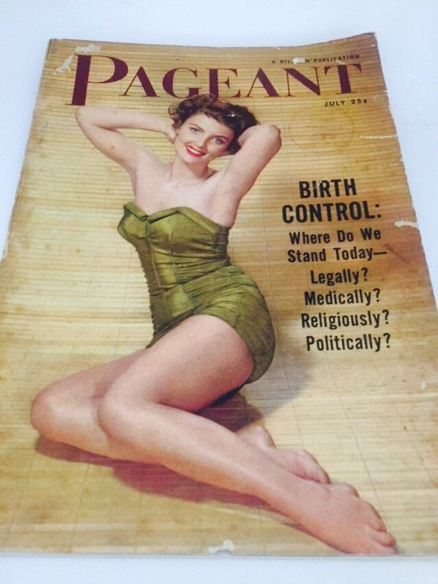 Pageant Magazine. Pin-up cover. Amazing articles by MrsJoyful on Etsy https://www.etsy.com/listing/244016712/pageant-magazine-pin-up-cover-amazing