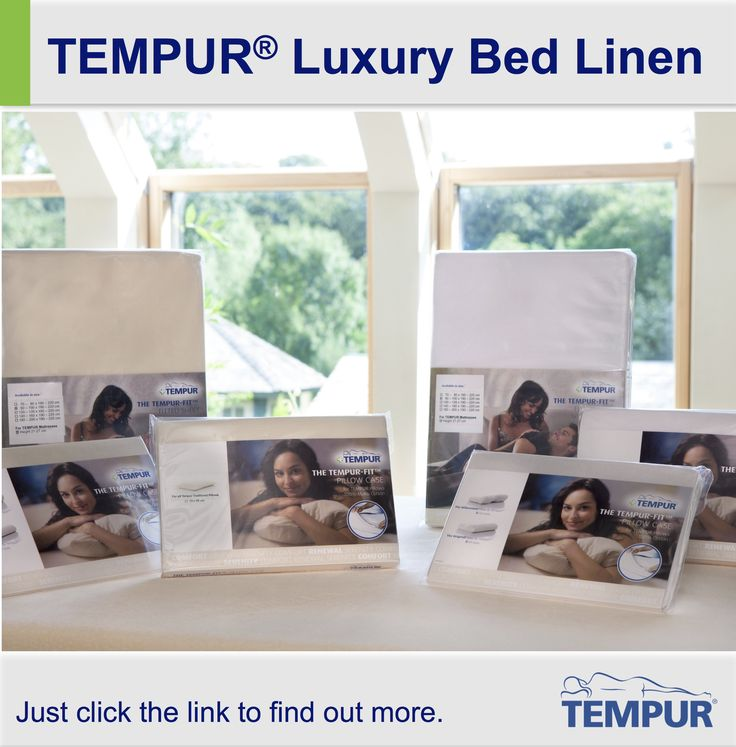 The Perfect Compliment To Your Tempur Mattress And Pillow Take A Look At Our Range
