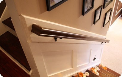 Spraypaint Handrail Hardware With Oil Rubbed Bronze And