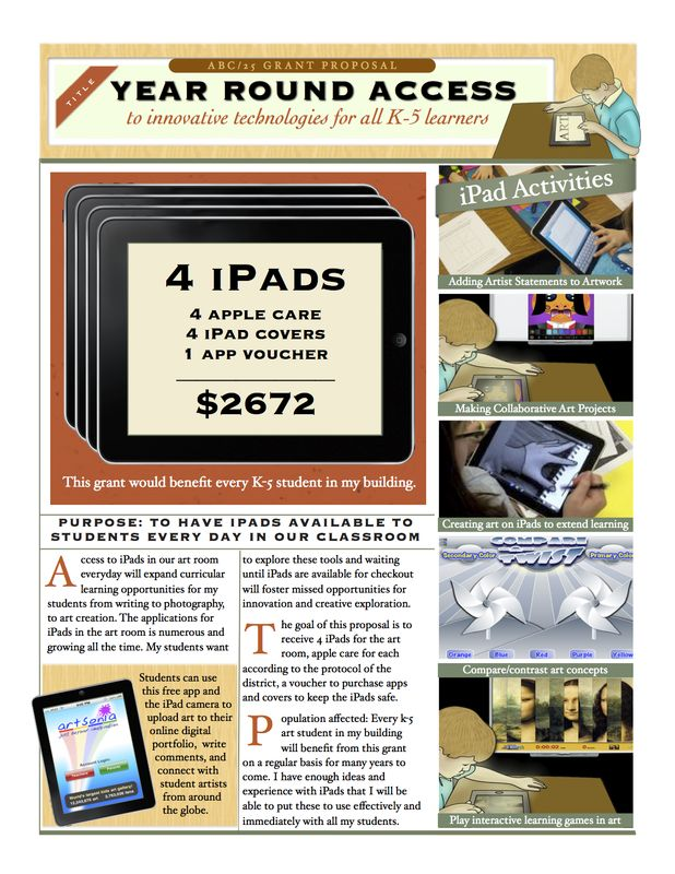 Classroom Grant Ideas ~ Best images about art ipad on pinterest technology