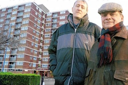 Could this be one of the locations for the Mockingjay Movies? The word is that film producers are scouting out a bunch of locations in the UK including Nelson Mandela House as seen in the TV show Only Fools and Horses.