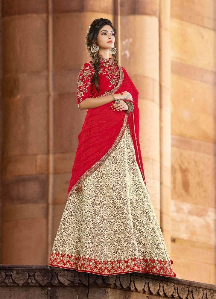Bollywood Lehenga Traditional Wedding Choli Pakistani wear Bridal Indian Ethnic #TanishiFashion