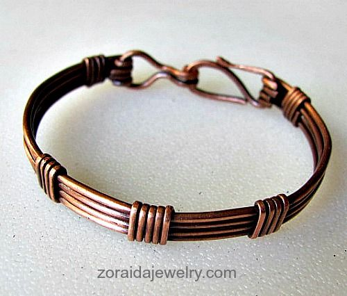 Small Copper Wire Bracelet