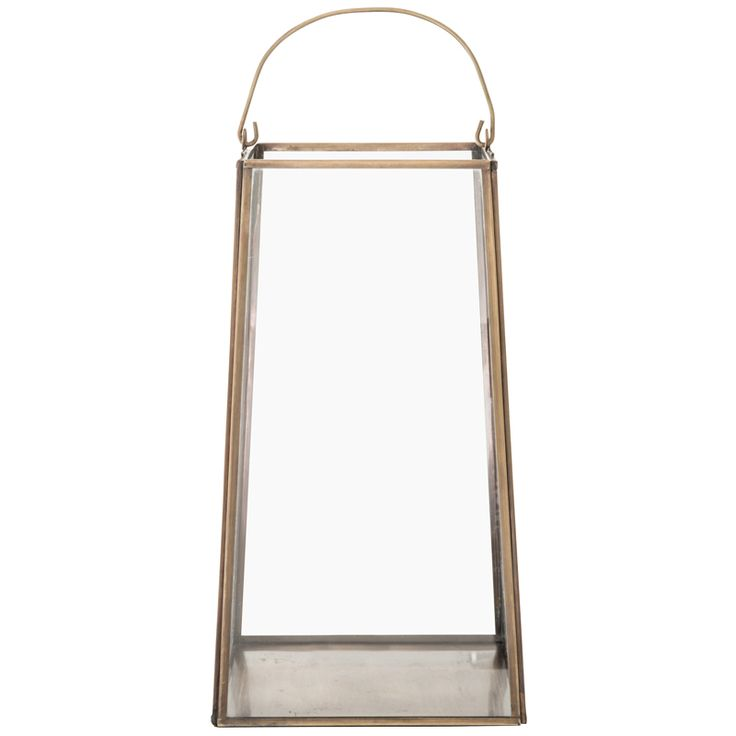 Brass Lantern – 31cm R600