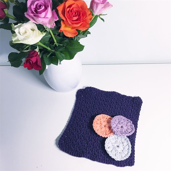 Spa set - Face cloth & make-up remover pads