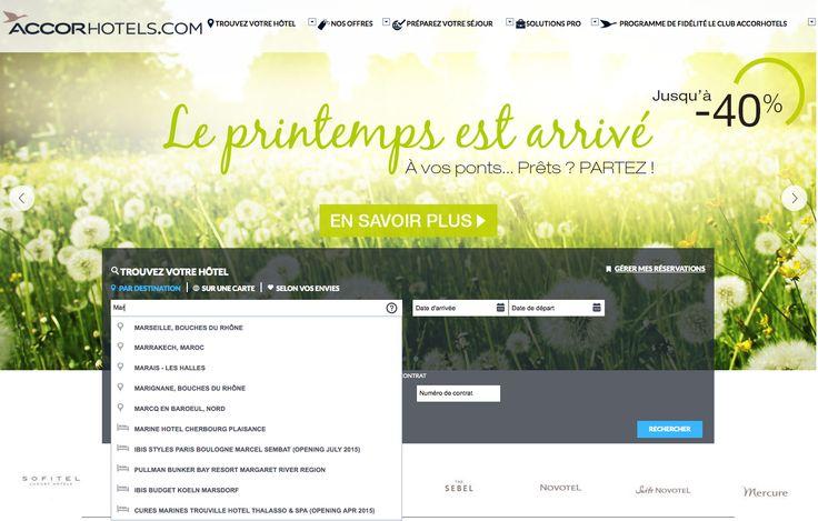 Pour profiter au mieux des ponts du mois de mai, Accor Hôtels vous suggère des destinations et des hôtels dans le monde entier, avec la technologie Antidot ! http://www.accorhotels.com