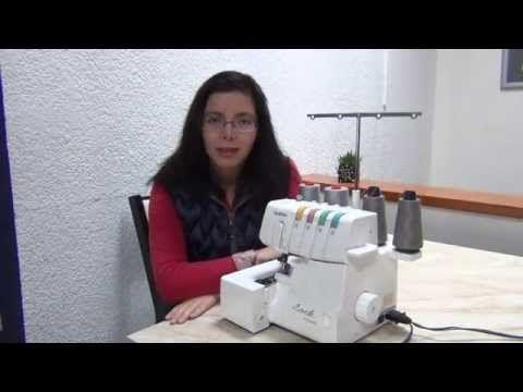 Overlock: Cómo limpiar y engrasar una overlock casera - YouTube