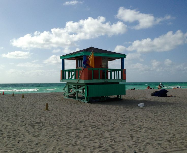 Life guard Miami Beach