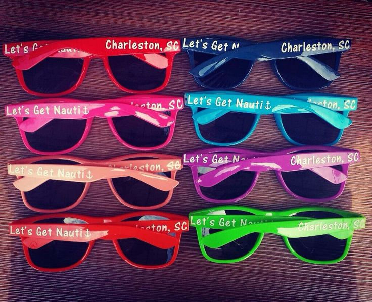 Birthday sunglasses personalized sunglasses decal for celebration and party photo booth fast ship