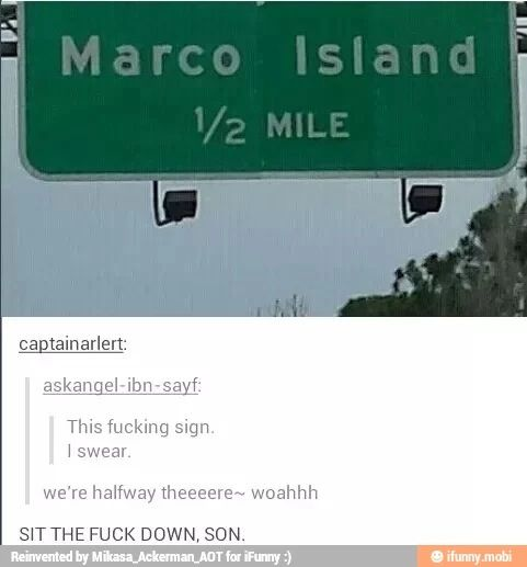 ((NOT HALF OF MARCO ISLAND WHY GUYS))